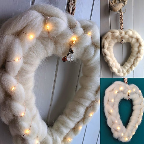 Hand Crochet a Heart Kit