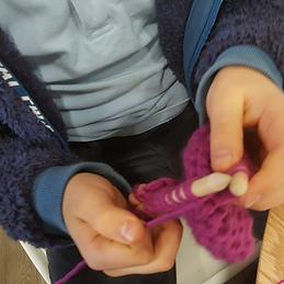 Knitting on Cloud Nine