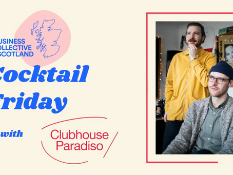 Cocktail Friday with Clubhouse Paradiso