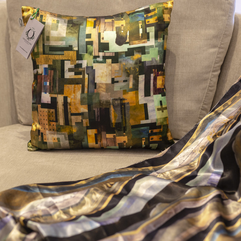 Obsidian Ore is a Scottish Textile Design company specialising in interior fabrics and soft furnishings.