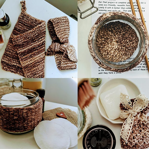 Learn to Knit Self Care Kit