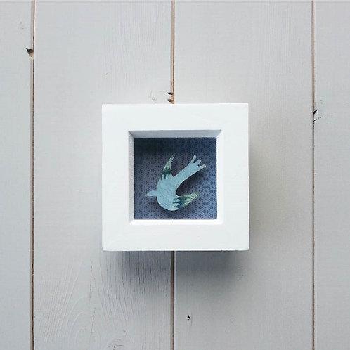 Blue Bird Framed Diorama