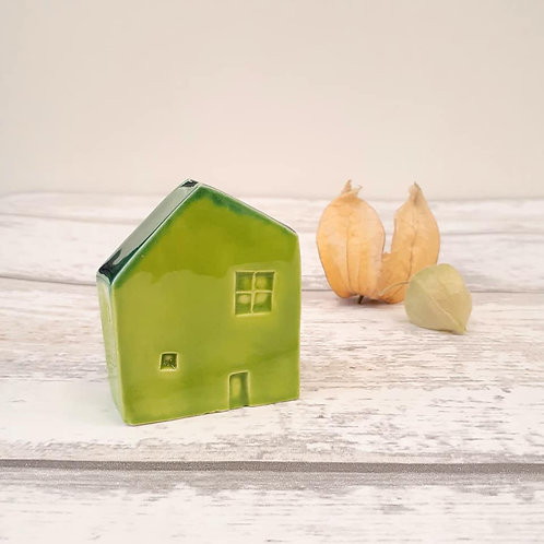 Green House House Ornament