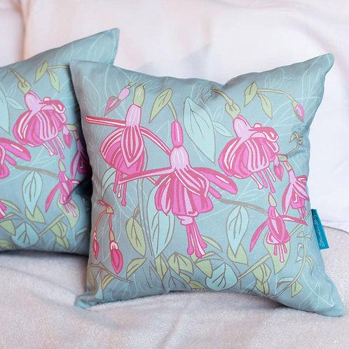 Fuchsia cushion
