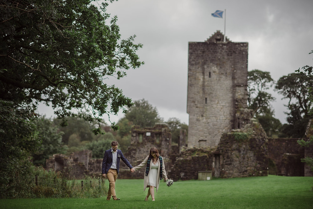 In 2020 the way love is celebrated may have changed but not the crazy love couples have for each other and with that in mind Business Collective Scotland member Rhiannon Eale from Small Fish Photo Co has created a new Wee Wedding & Elopement Photography package.