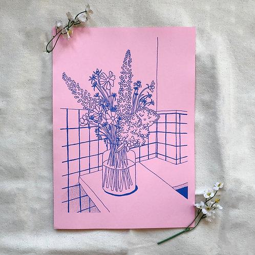 Sunday Morning - Pink Stock