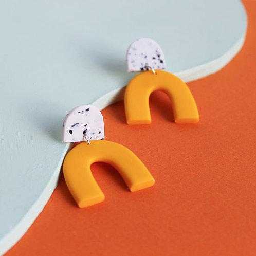 Halfmoon Speckle Bends Yellow