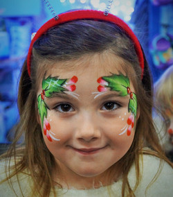 Holly Face Paint