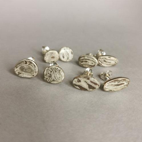 Woodgrain earrings
