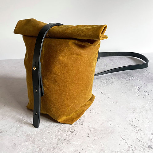 Waxed Canvas Pentland Utility Cross Body Bag