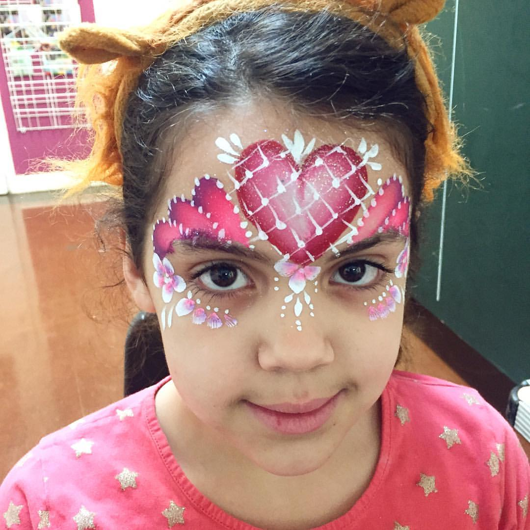 Valentines Face Paint