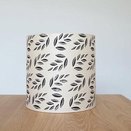 20cm x 20cm Medium Lokta Lampshades - Leaf Print
