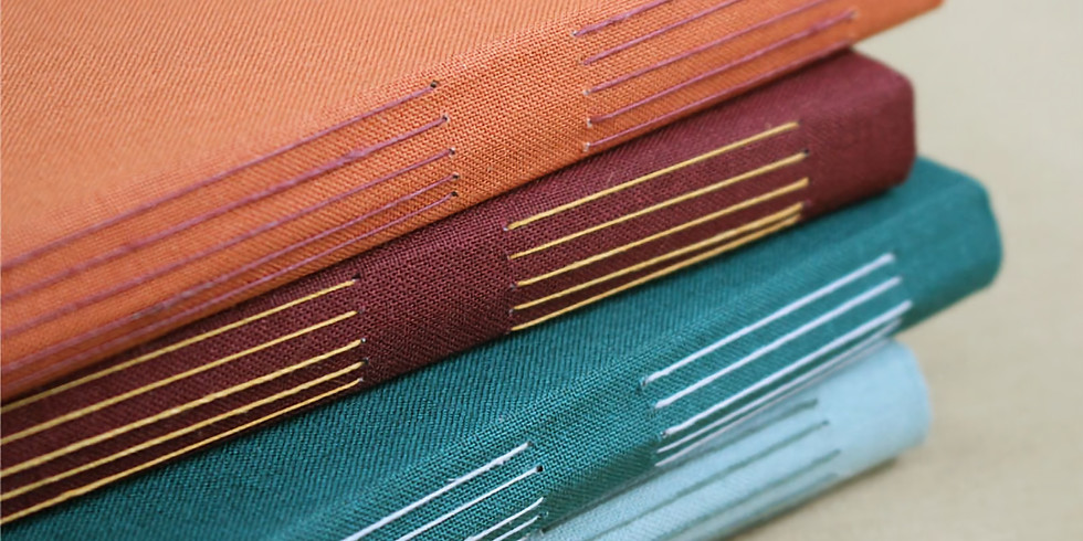 Bookbinding Workshop with JuJu Books – Make a Hand Sewn Journal