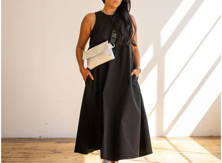 Fashion designer Hayley McSporran Studio launches her latest designs - The L/L 20 Collection.