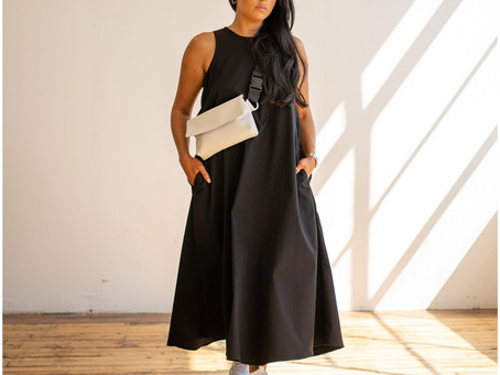 Fashion designer Hayley McSporran Studio launches her latest designs - The L/L 20 Collection.
