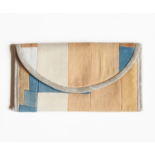 Quilted Patchwork Pouch