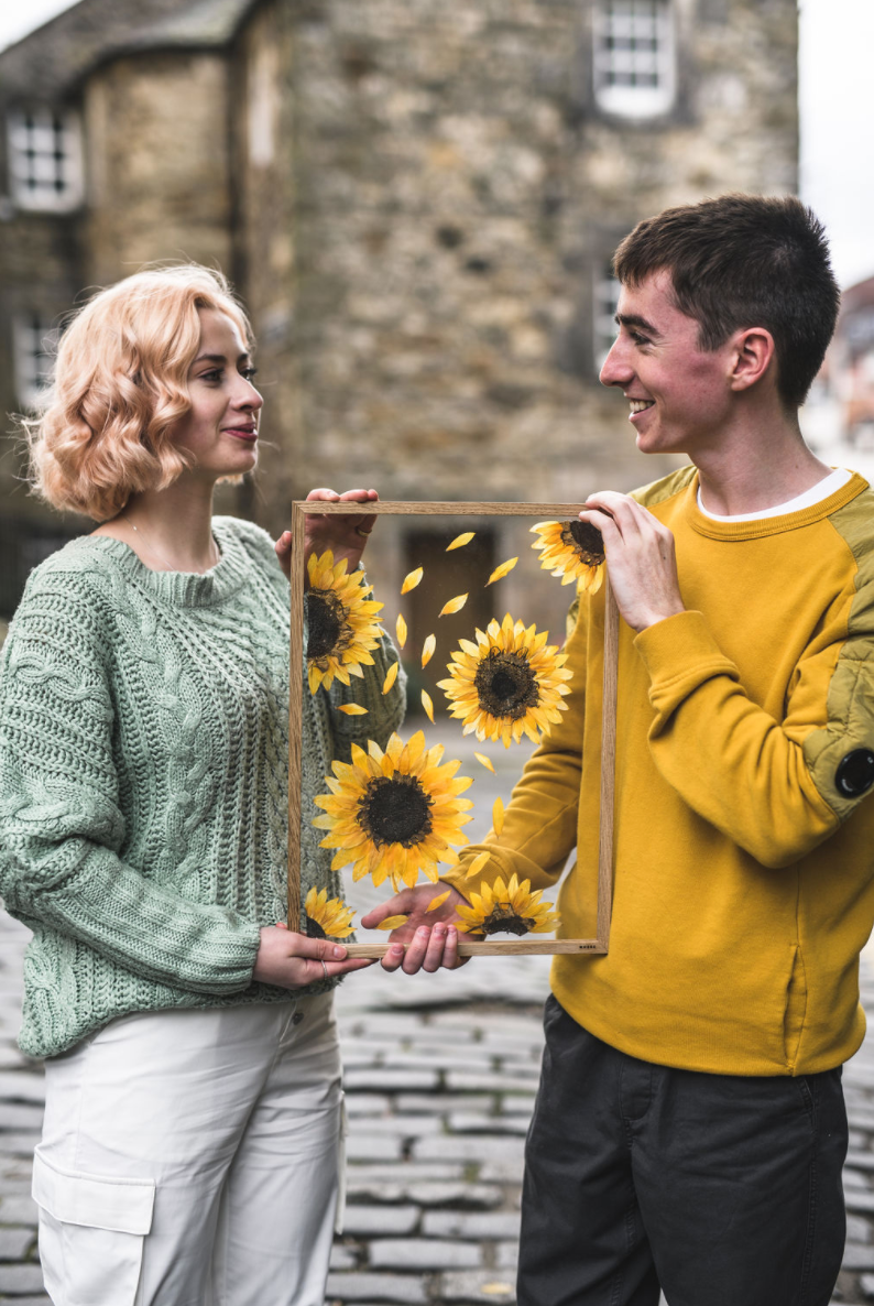 A Business Collective Scotland Member Collaboration: Flowers Afloat & Doug Shapely Photography