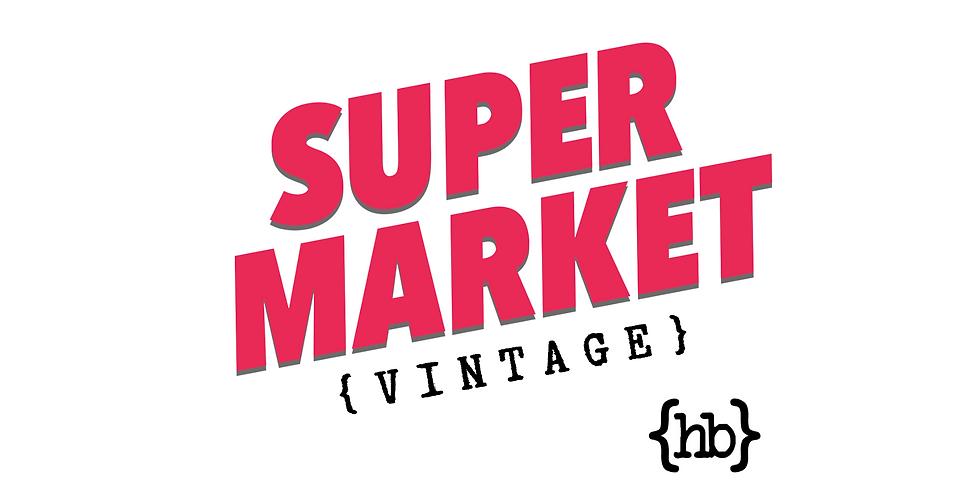 SUPER MARKET VINTAGE at HIllhead Bookclub