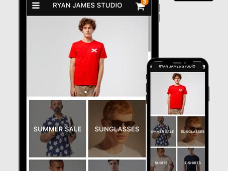 Ryan James Studio Launches App