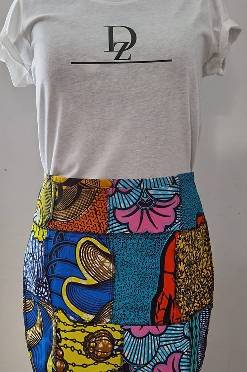 African Print Apron (Half)