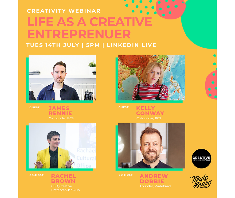 Creativity Webinar: Life As A Creative Entrepreneur