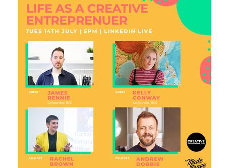 Creativity Webinar: Life As A Creative Entrepreneur
