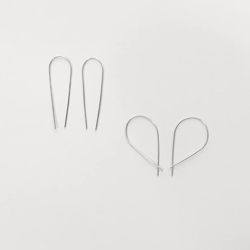 Linear Collection Threader Earrings