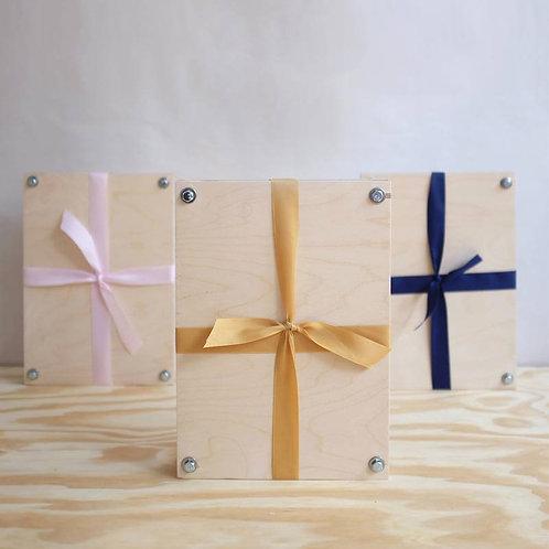 Plywood Flower Press, A5
