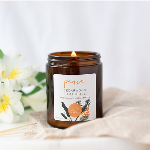 Peace   Natural Candle