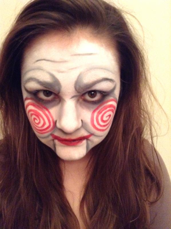 Saw Face Paint