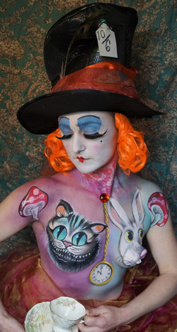 Through the Looking Glass Body Paint