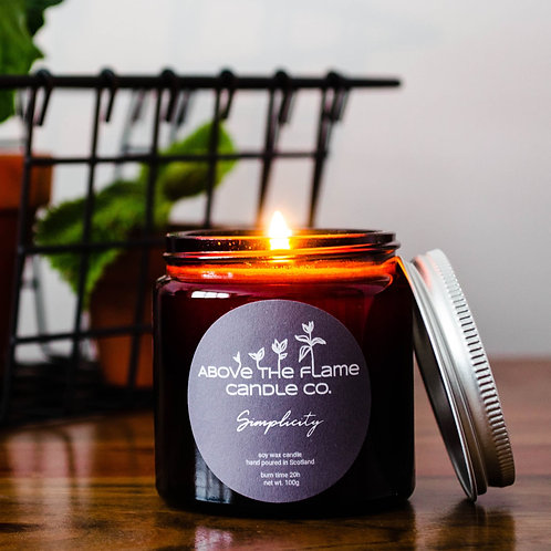 Simplicity Soy Wax Candle