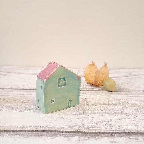 Seaglass House Ornament