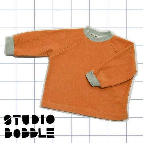 Light Brown Fleece Sweatshirt