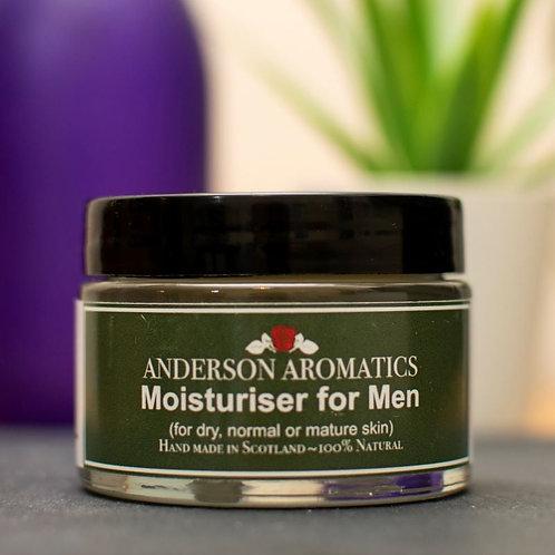 Moisturiser for Men - for Masculine Toughened Skin