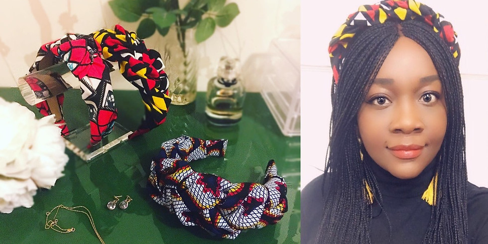 Couronne De Fleurs Headband Making with Nephtali Couture