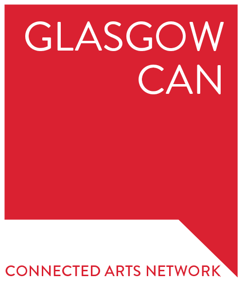 Glasgow connected arts network scotland logo