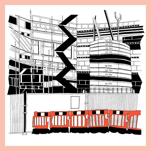 "Canonmills Bridge ""Orange"", Edinburgh '19"