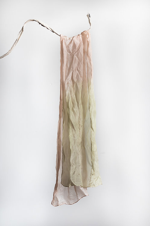 Plant Dyed Ethical Silk Scarf