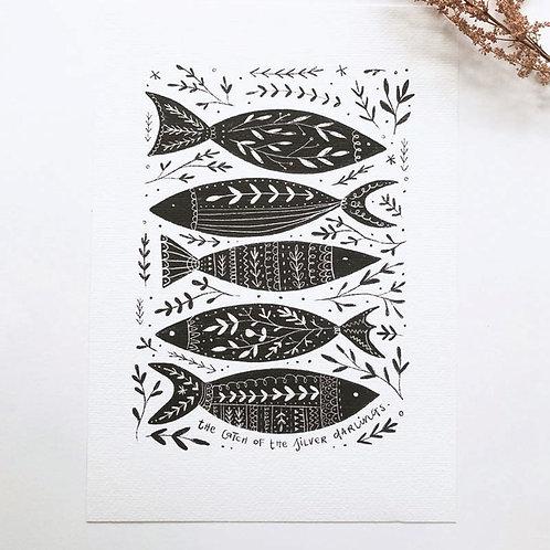 Silver Darlings Print