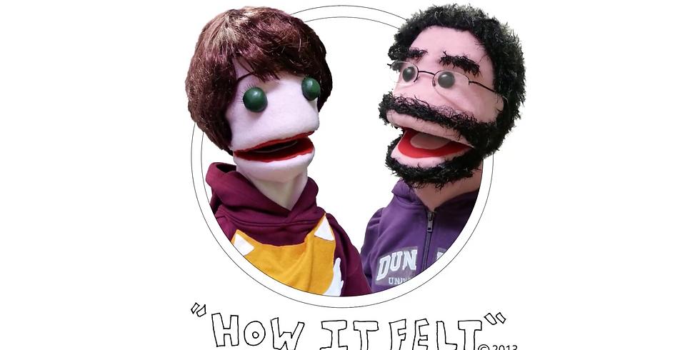 How it Felt: Make a Rudolph String Puppet
