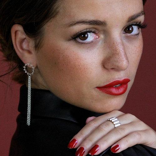Ondulée Tassel Earrings