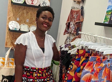 Nephtali Couture Achieves Small Business Goal by being Stocked at a Store