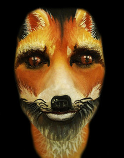Fox Face Paint