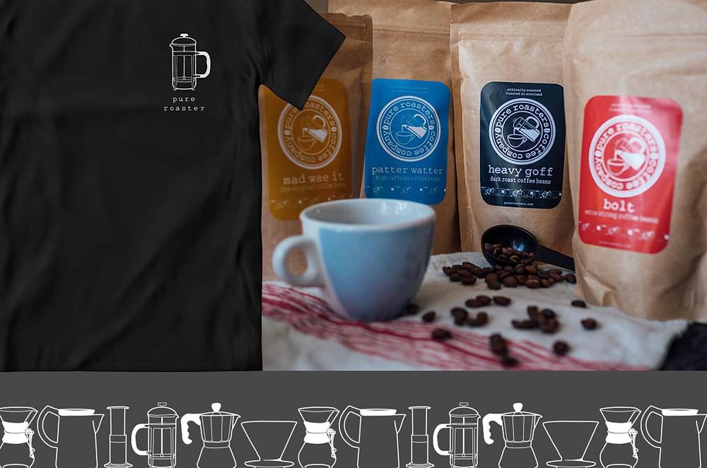 Pure roasters coffee glasgow