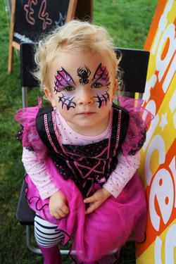 Spider Princess Face Paint