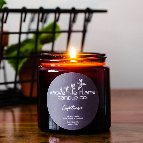 Cafetiere Soy Wax Candle