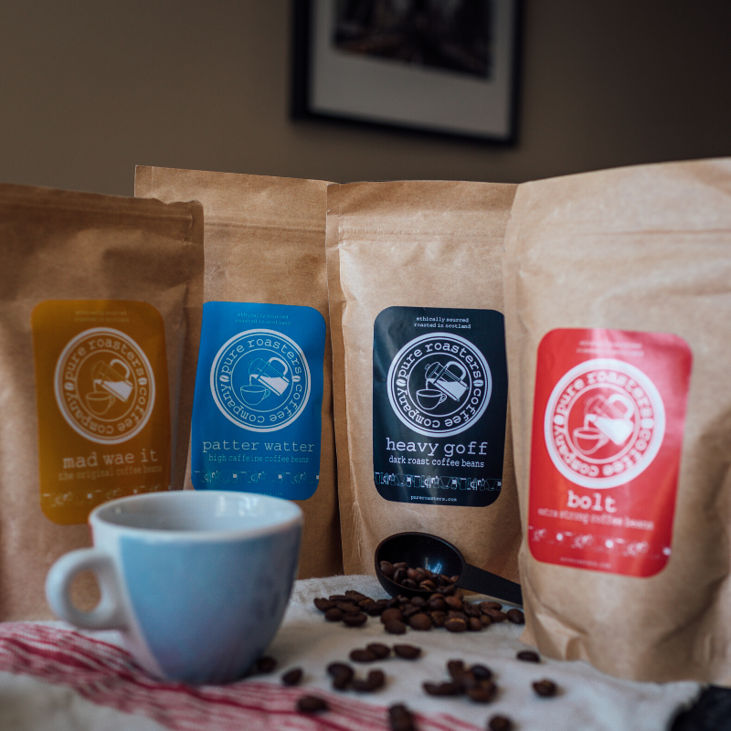 Pure Roasters Scottish Coffee