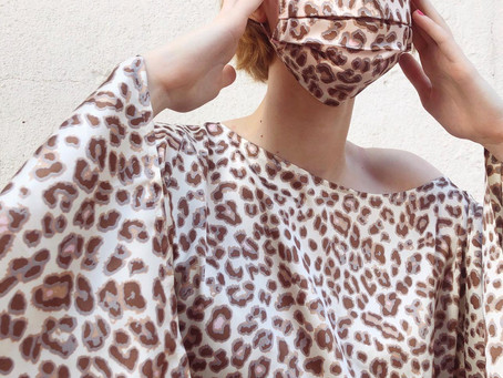 Fashion brand Chouchou Creates Face Masks for Cafe Strange Brew
