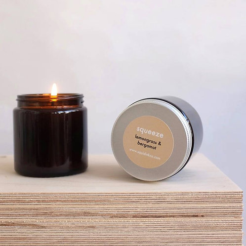 Essential Oils Soy Candles, Squeeze